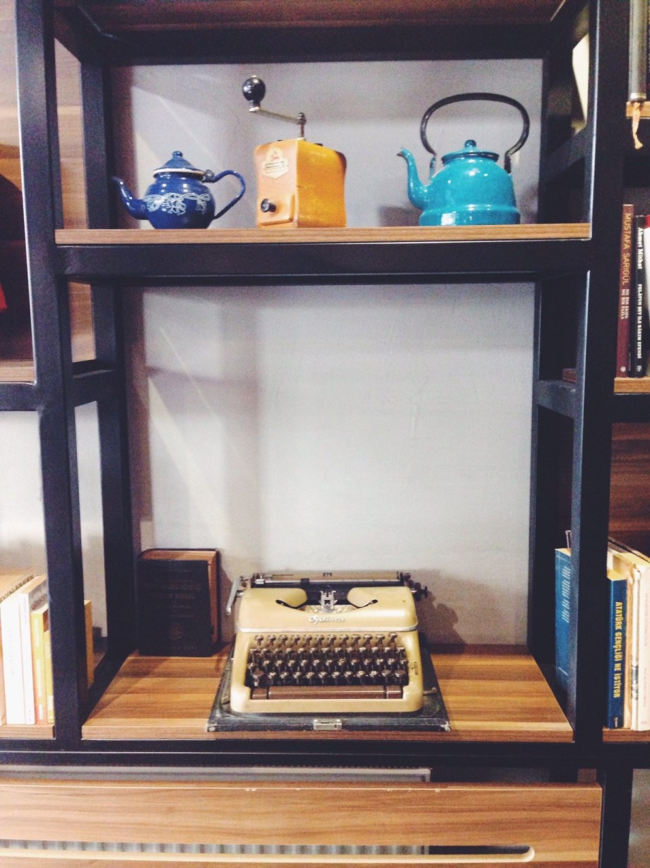 page coffe gallery - daktilo