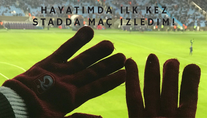 İLK KEZ STADDA MAÇ İZLEDİM! | TRABZONSPOR – FENERBAHÇE 1-1
